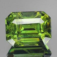2.45 cts ! AMAZING ! 100% Natural Nice Yellowish Green Color  (Demantoid) garnet