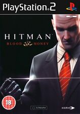 * PLAYSTATION 2 Game * HITMAN: BLOOD MONEY * N * PS2