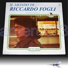 """RICCARDO FOGLI """"IL MONDO DI"""" RARO LP SIGILLATO - POOH"""