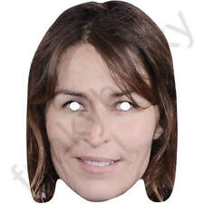 Helen Baxendale Celebrity Actor Card Mask - All Our Masks Are Pre-Cut!