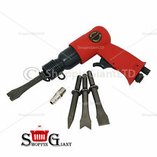 "5PZ 150mm 6 ""AIR HAMMER KIT CON RASCHIETTO CORPO GRUPPO COMPRESSORE PNEUMATICO ct0676"