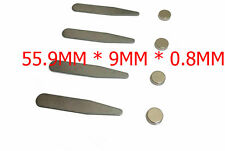 2 Pairs(4pcs) Metal Magnetic Collar Stays w/XL Chip Resistant Magnets