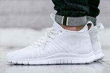 NIKE FREE HYPERVENOM 2 FS Trainers Shoes Casual  UK Size 10 (EU 45) Triple White