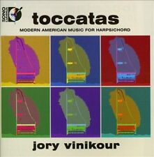 TOCCATAS: MODERN AMERICAN MUSIC FOR HARPSICHORD [CD & BLU-RAY AUDIO] NEW DVD