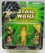 Hasbro Star Wars Fan's Choice AMANAMAN Salacious Crumb Action Figure set NIP