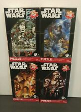 Set of 4 Star Wars Jigsaw Puzzle Movie Poster Collectors 300 Piece