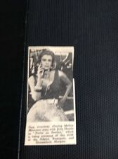 G7-1 Ephemera 1961 Picture Melina Mercouri Film Never On Sunday Release