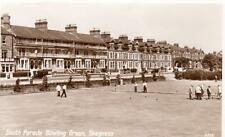 South Parade Bowling Green Bowls  Skegness RP pc used 1957 Rose