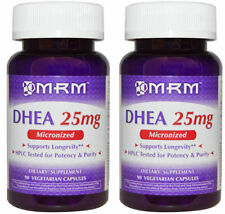 2 x Mrm Micronized Dhea 25mg 90 caps