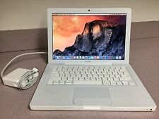 "Apple MacBook A1181 13.3"" Refurbished Laptop - Yosemite OSX C2D Core 4GB 160GB"