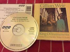 Gillian Weir - King of Instruments CD (Organ Music from BBC Wales TV Series 1989