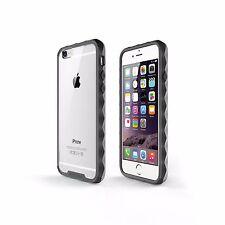 SOOPER iPhone 6s/6 Case Non-Slip NUDE Hybrid Series- Matte Black