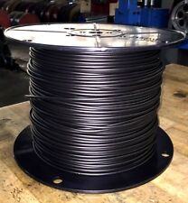 18 Gauge In Ground Pet Fence Wire 35mil LD PE Solid 1000ft Black dog safety