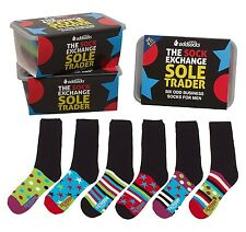United Oddsocks Set Of 6 Sole Trader Business Odd Socks For Men Present Gift Box