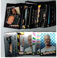 RARE 1987 TOPPS TEST ISSUE SET MAX HEADROOM 33 CARDS & 11 FOIL STICKERS COMPLETE