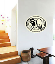 """Racoon Hiking Wall Decal Large Vinyl Sticker 25"""" x 20"""""""