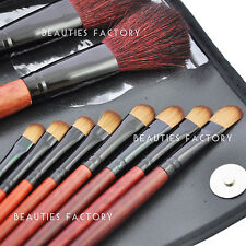 New BF 31pcs Black Eyeshashdow Cosmetics Makeup Brushes Set Pony Goat Hair #349