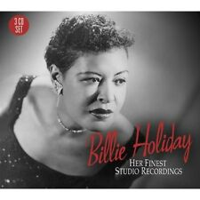 Billie Holiday-her Finest studio recordings 3 CD NUOVO