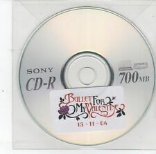 (DS797) Bullet For My Valentine - 2004 DJ CD