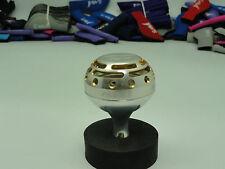 UJ PRK 45mm type II knob for Shimano Talica TAC 8 10 12 16 20 25 reel Silver/GD