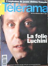 2297 FABRICE LUCHINI MC SOLAAR ARTHUR KOESTLER DOC ET DIFOOL TELERAMA 1994