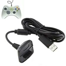 USB Charger Cable Lead For Microsoft XBOX 360 Wireless Gamepad Controler Console
