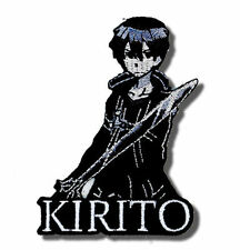 Sword Art Online Kirito Portrait patch Iron-on New Anime Licensed