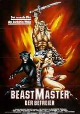 Beastmaster Poster 03 A2 Box Canvas Print
