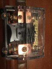 Raptor ANL Fuse Distribution Block 2 Positions 1/0 Input To 2 4 GA Output