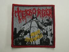TERRORIZER WORLD DOWNFALL WOVEN PATCH