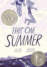 This One Summer by Jillian Tamaki (2014,Paperback)