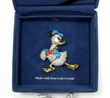Disney Donald Duck Swarovski Crystal Brooch/Pin