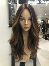 Yaffa Wigs Ready To Wear European Brunette Balayage Human Hair Wig