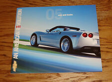 Original 2005 Chevrolet Car & Truck Full Line Sales Brochure 05 SSR Corvette