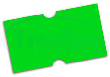 Price Gun Labels Green (10 Rolls) Fit MoTEX MX-5500
