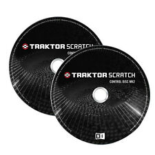 Native Instruments Traktor Control CD MK2 (Pair) Brand New!! MKII Discs
