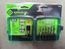 Greenlee 6 Pc. Drill/Tap Bit Set.  Drill, Tap  #DTAPKIT NEW