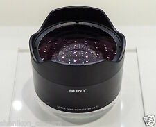 100% New Unused Sony 21mm Ultra Wide Angle Converter Lens FE 28mm F2 SEL075UWC