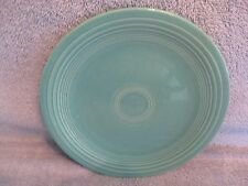 HOMER LAUGHLIN CHINA Turquoise Salad Plate VINTAGE FIESTA exc