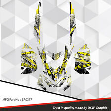 SKI-DOO XP MXZ SNOWMOBILE SLED WRAP GRAPHICS STICKER DECAL KIT 2008-2013 SA0377