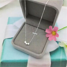 1 Pc Small Cube Pendant Clavicle Necklace Simple Stylish Jewelry Decoration