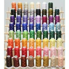Premium 63 Brother Disney Colors Embroidery Machine Thread Set 40wt Cones Etks63