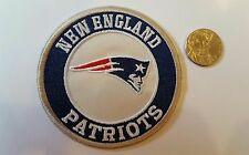 """New England Patriots vintage Embroidered iron on Patch 3"""" x 3"""" NFL Nice Quality"""