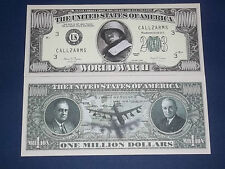 THE WORLD WAR II NOVELTY U.S. BANKNOTE FREE NOTE OFFER!