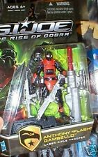 GI JOE RISE OF THE COBRA ANTHONY FLASH GAMBELLO MOC