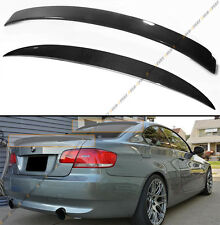 07-2013 E92 COUPE SPORT CARBON FIBER REAR WINDOW ROOF SPOILER + PERFORMANCE WING