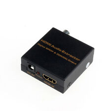 HDMI To Digital Optical Spdif Coaxial Audio Extractor Converter Splitter 5V DC