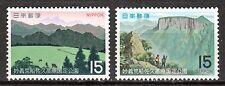 Japan - 1970 National parks - Mi. 1088-89 MNH