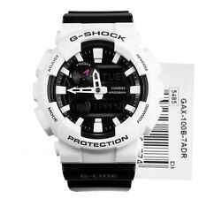 NEW* CASIO MENS G SHOCK BLACK GLIDE MOON THERMOMETRE WATCH XL GAX100B-7A RRP£149