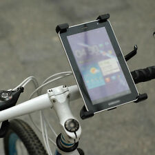 Bike Bicycle Motorcycle Microphone Stand Mount Tablet Holder for iPad Samsung PC